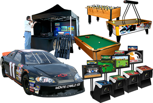 Arcade Games & Simulators