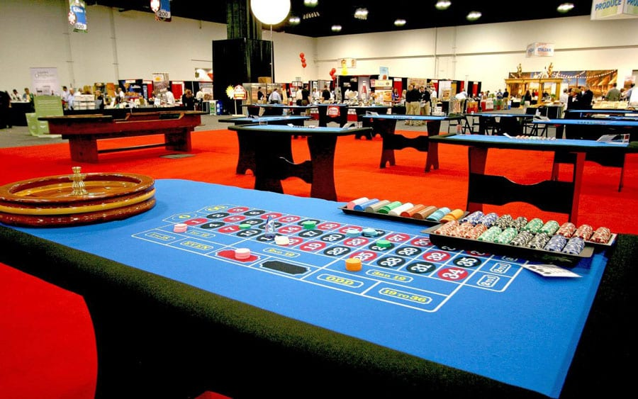Casino parties are a great way to encourage a little friendly competition and are fun for adults of all ages. They are also easily scalable, from an intimate lounge at an evening reception to a full casino complete with custom table felts and chips bearing your logo.  Whatever the size and focus of your party, you can be assured of professional-quality equipment and charismatic, well-dressed staff. In addition to standard games such as blackjack, craps, Texas Hold 'Em and roulette, consider adding pinball or slot machines for that quintessential casino sound and pizzazz, or let us help you develop a custom prize or sponsorship program to offset your costs, strengthen relationships and take your event to the next level.